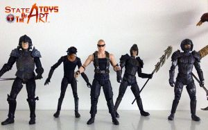 Chronicles of Riddick set.  Daily Photo! by StateOfTheArt-toys