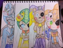 Five Nights at Nighmaren's 2 by dreamer73