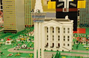 Lego City No.5: White House by kn33cow