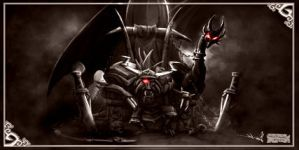 Cynder And Gaul... by CynderFanClub