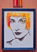 Hayley Williams - Paramore by ieroslaugh
