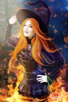 The Halloween Witch Happy Halloween 2012 by MADmoiselleMeli