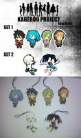 kagerou project keychain by yue-theumbreon