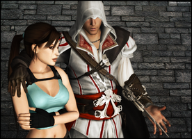 Lara and Ezio by andersoncathy