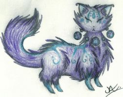 Rosary Cat Hatchling by ZeldaWolf7