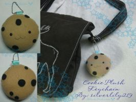 Cookie Plush Keychain by silverlily219