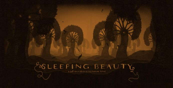 Sleeping Beauty 3D Storybook by bramiac
