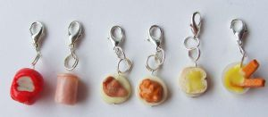11th Doctor Who Food Stitch Markers by tyney123