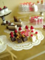 Petit Fours in 1:12 by Snowfern