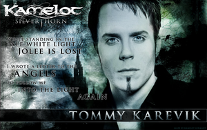 Kamelot - Tommy Karevik - Jolee - Wallpaper by xandra73