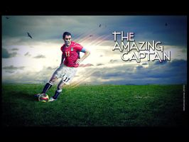 Ahmed Hassan-The Amazing C. by omrantheone