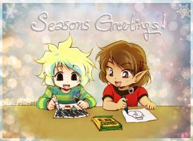 Seasons Greetings 2011 by Achiru-et-al