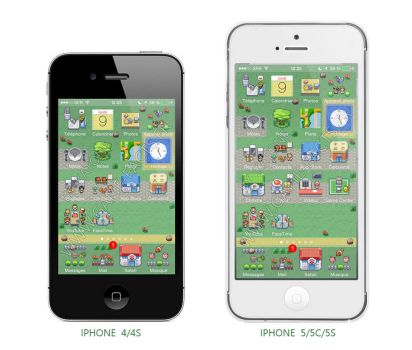 Theme Pokemon Iphone et ITouch by Im-Katone