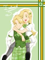 APH- Ireland Twins by Kahimi-chan