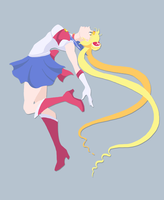Sailor Moon by silverwinglie