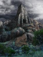 Forgotten tower by Scharborescus