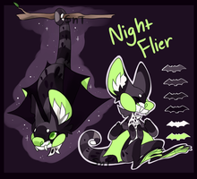 Night Flier Lemima Auction [CLOSED] by Sweet-n-treat