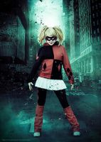 Harley Quinn dark city by clefchan