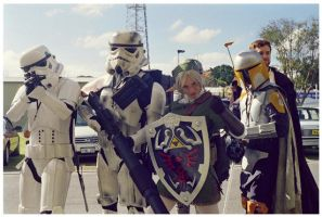 Trooping by faestock
