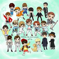 Happy SHINee 6th Anniversary!! by amarim