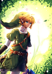 a Link to the forest glade by Maruuki