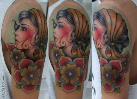 Gypsy Tattoo by Moviemetal3