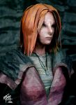 Irisa Papercraft Bust by studioofmm
