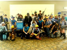 Otakon 2011 - Team Fortress 07 by mugiwaraJM