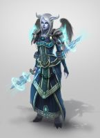 Draenei Priest in T6 by conniebees