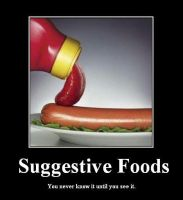 --Suggestive Foods-- by NerinSerene