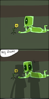 Little Enderslime - Comic by AccursedAsche