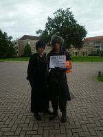 Xion and Noctis - abunai2011 by BeforeTheMomentGirl