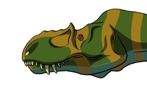 Yet Another Colored Theropod 0 by dracontes