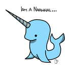 This is what a Narwhal is... by Kiwiibuns
