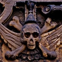 Skull and bones by FalseMaria
