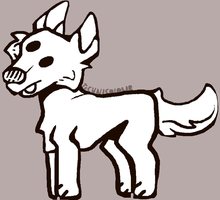 Doge Lineart Free 2 Use by TECHNlCOLOURED