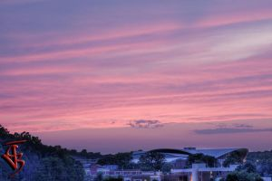 Sunset over Stegman by cjbroom