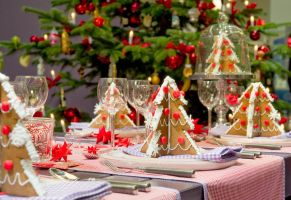 Christmas Table Decorations by mudassarsaleem92