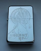 SILENT HILL - engraved lighter by Piciuu