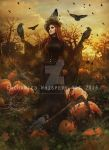 Lady-Scarecrow by EnchantedWhispersArt