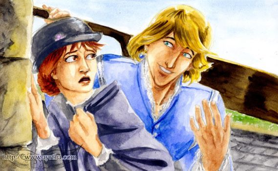 Sophie and Howl by Ayrtha