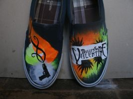 Bullet for my Valentine shoes by OdieBFMV