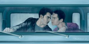 Teen Wolf. Sterek by Alex-JD-Black