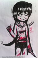 Jeff the Killer Genderbent by MiSzDesoLaTed