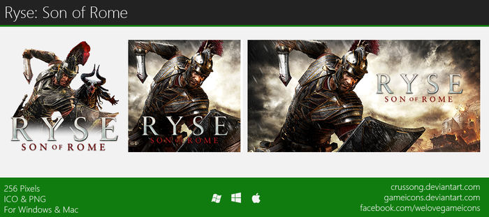 Ryse: Son of Rome - Icon by Crussong