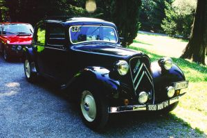 1950 Citroen Traction Avant by GladiatorRomanus