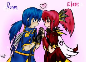 GrandChase - Ronan And Elesis by Kya-Cat