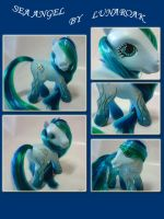Sea Angel  G3 custom pony by lunaroak