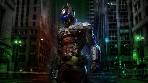 Arkham Knight Wallpaper 1080p (Front) by Redberry5291