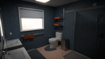 Blender Bathroom Render by alewism